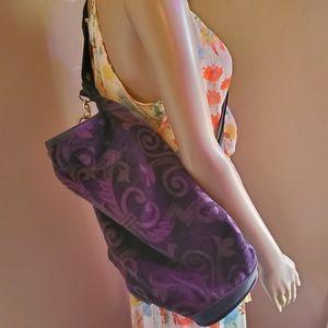 Vintage tapestry showline custom travel bag